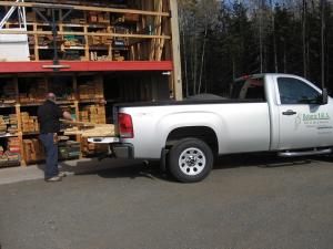 Préparation de commande de bois d'ébénisterie