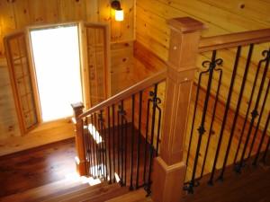 Escalier Pin et Métal