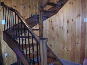 Escalier ouverte